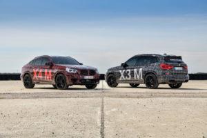 BMW X3M - BMW X4M F97 F98 2019 Spy Ufficiali Nurburgring