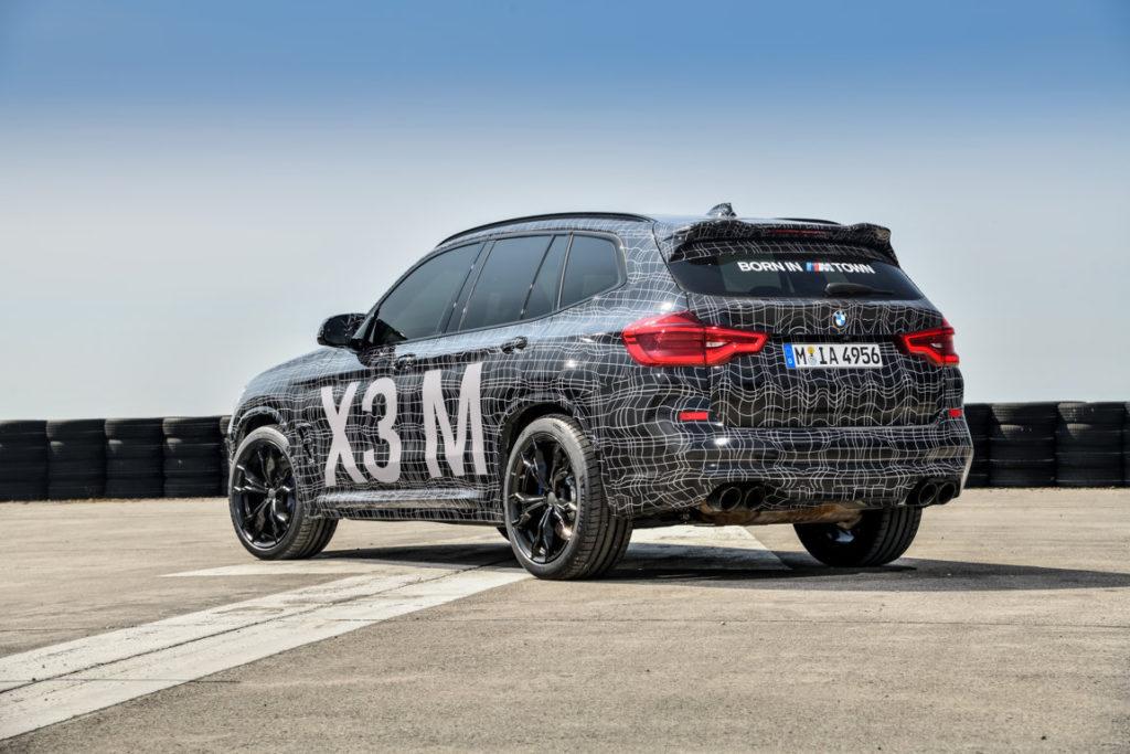 BMW X3M - BMW X4M F97 F98 2019 Spy Ufficiali Nurburgring (5)