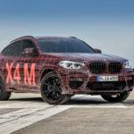 BMW X3M - BMW X4M F97 F98 2019 Spy Ufficiali Nurburgring (7)