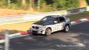 BMW X4M 2018 Spy F98 Nurburgring (2)