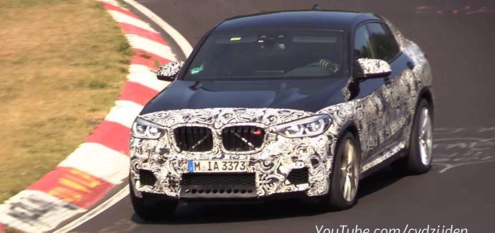 BMW X4M 2018 Spy F98 Nurburgring (3)