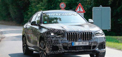 BMW X6 2019 Spy G06 (2)