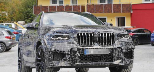 BMW X6 M F96 Spy 2020