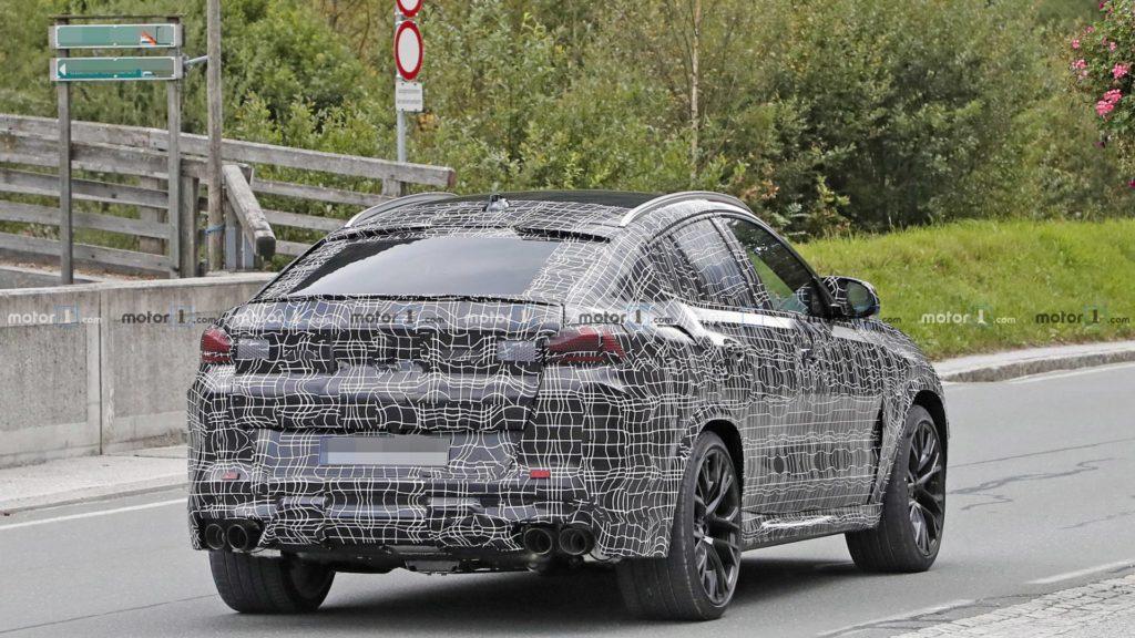 BMW X6 M F96 Spy 2020 (9)