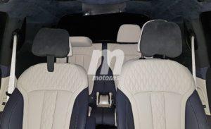 BMW X7 G07 Spy Interior 2019 (2)