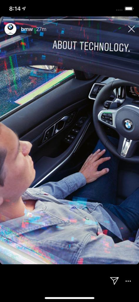 BMW Instagram - BMW Serie 3 G20 Teaser
