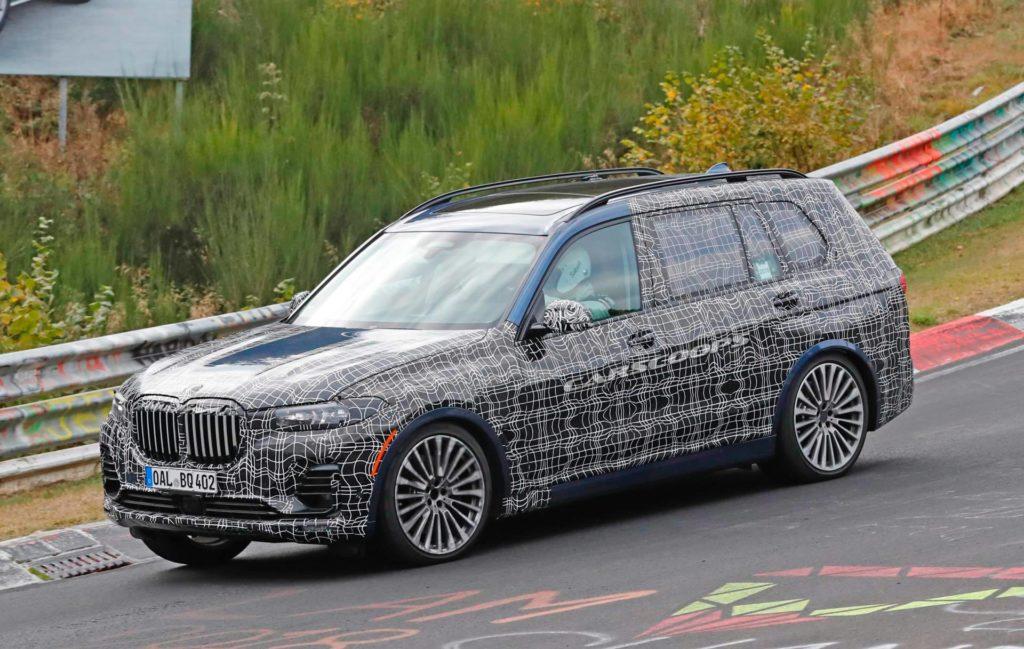 Alpina XD7 2019 Spy - BMW X7 G07 M50d (2)