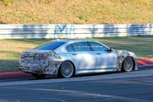 BMW Alpina B7 LCI Spy 2019