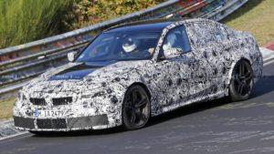 BMW M3 G80 2020 Spy Nurburgring (2)
