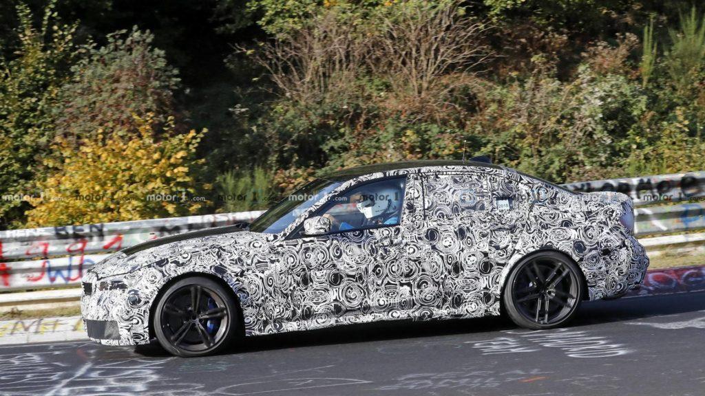 BMW M3 G80 2020 Spy Nurburgring (3)
