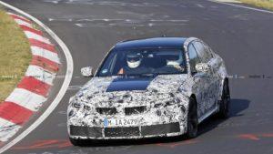 BMW M3 G80 2020 Spy Nurburgring