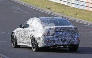 BMW M3 G80 2020 Spy Nurburgring (6)