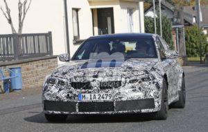 BMW M3 G80 2020 Spy Nurburgring (7)