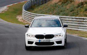 BMW M5 CS Spy 2018