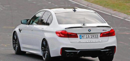 BMW M5 CS Spy 2018 (4)