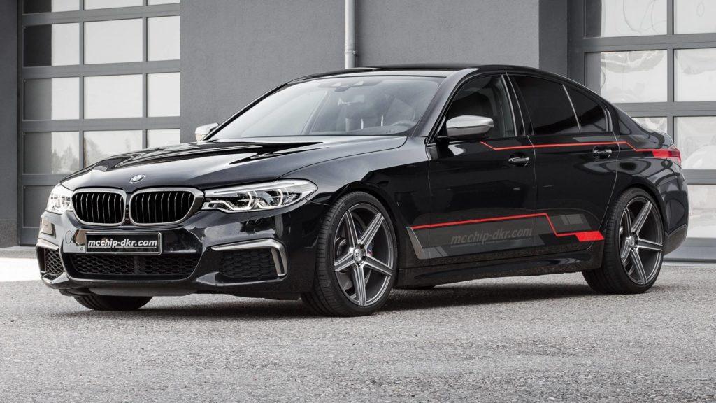 BMW M550d xDrive by mcchip-dkr Serie 5 G30 (2)
