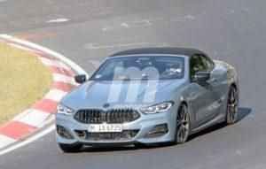 BMW M850i Cabrio Spy Nurburgring 2018 BMW Serie 8 Cabrio (2)