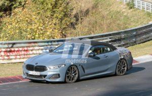 BMW M850i Cabrio Spy Nurburgring 2018 BMW Serie 8 Cabrio (3)