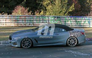 BMW M850i Cabrio Spy Nurburgring 2018 BMW Serie 8 Cabrio (4)