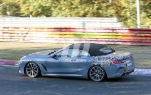 BMW M850i Cabrio Spy Nurburgring 2018 BMW Serie 8 Cabrio (5)