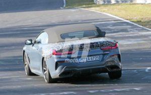 BMW M850i Cabrio Spy Nurburgring 2018 BMW Serie 8 Cabrio (7)