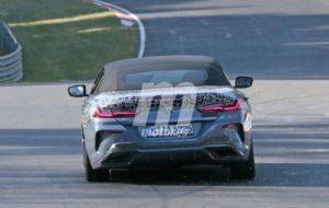 BMW M850i Cabrio Spy Nurburgring 2018 BMW Serie 8 Cabrio (8)