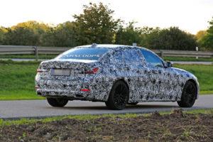 BMW Serie 3 LWB Spy 2019 G28 (4)