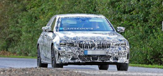 BMW Serie 3 LWB Spy 2019 G28