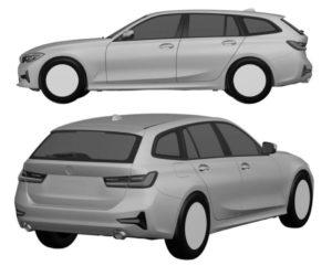 BMW Serie 3 Touring G21 Patent Spy 2019 (4)