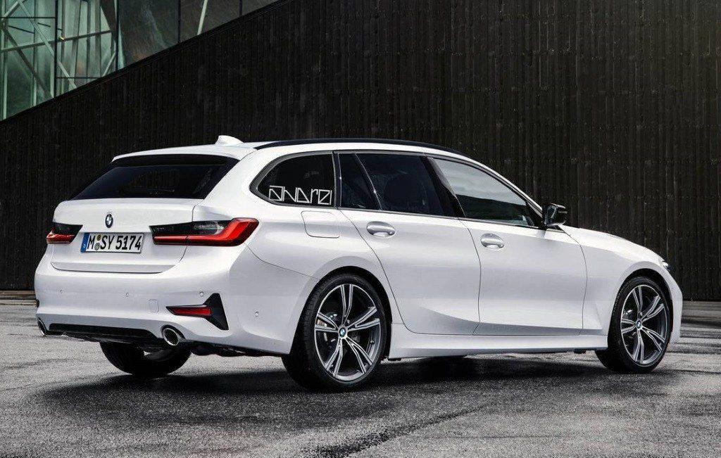 BMW Serie 3 Touring G21 Patent Spy 2019 (7)
