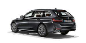 BMW Serie 3 Touring G21 Patent Spy 2019 (8)