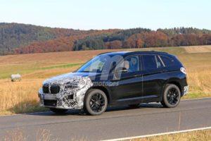 BMW X1 2019 facelift LCI F48 Spy (2)