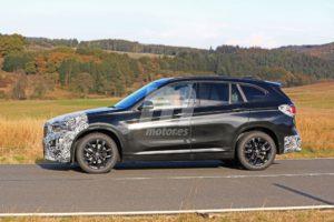 BMW X1 2019 facelift LCI F48 Spy (3)