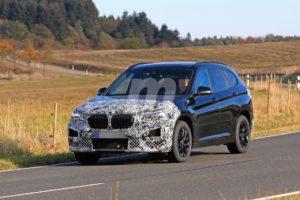 BMW X1 2019 facelift LCI F48 Spy