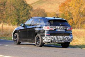 BMW X1 2019 facelift LCI F48 Spy (4)