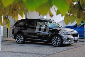 BMW X1 2019 facelift LCI F48 Spy (5)
