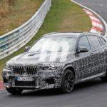 BMW X6 M 2019 Spy F96