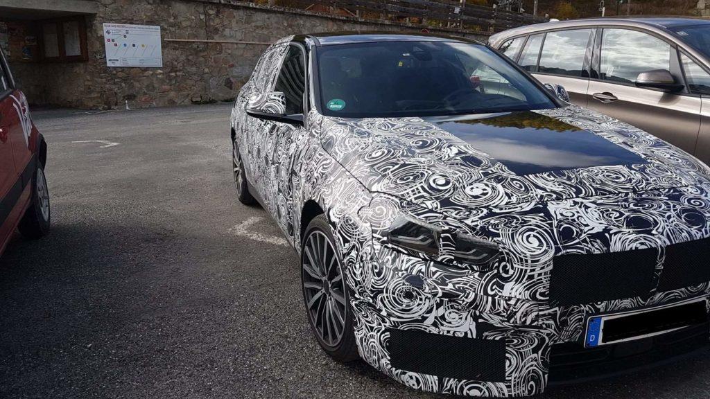 BMW Serie 1 F40 2019 Spy