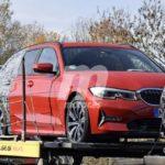 BMW Serie 3 Touring 2019 G21 Spy
