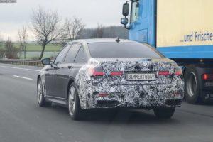 BMW Serie 7 facelift 2019 Spy - BMW M760Li xDrive LCI - G12 G11