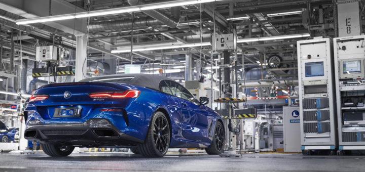 BMW Serie 8 Cabrio G14 2019 Dingolfing Plant