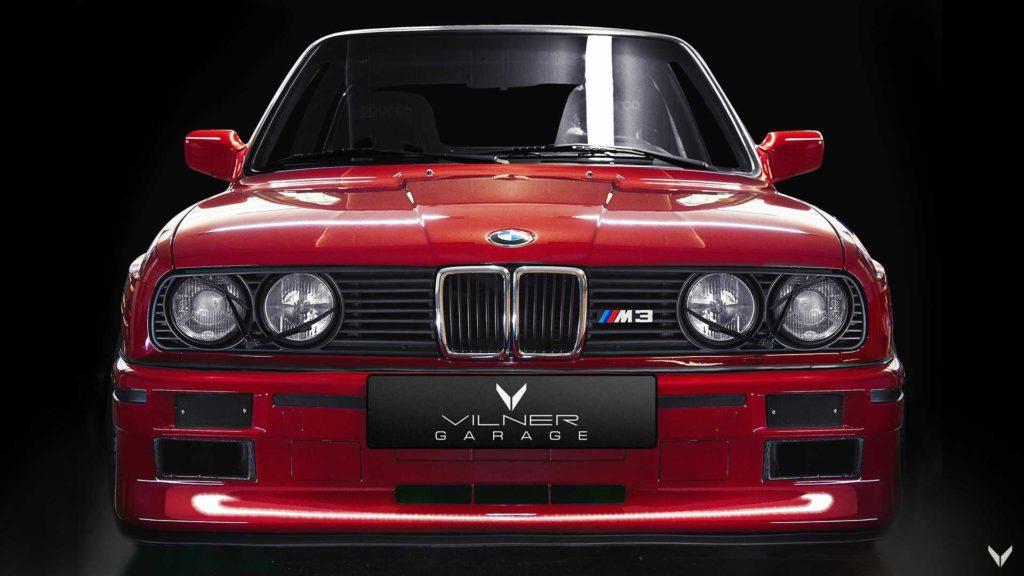BMW M3 E30 1990 by Vilner - swap engine M3 E36