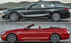 BMW Serie 8 Cabrio vs BMW Serie 6 Cabrio - G14 F12