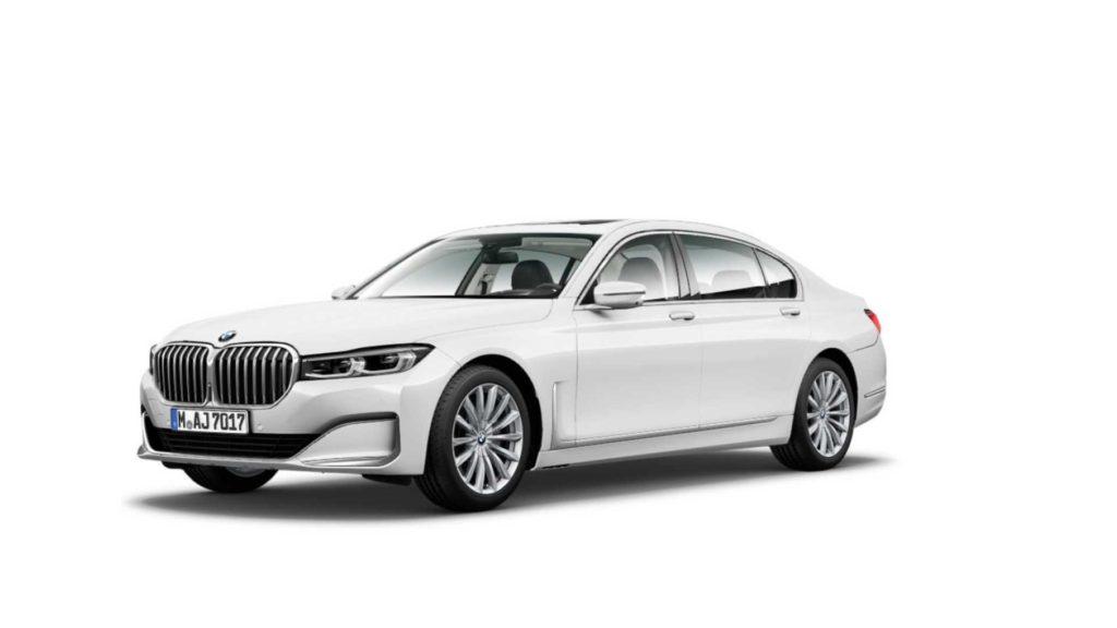 BMW Serie 7 LCI facelift 2020 G11 G12 Leaked