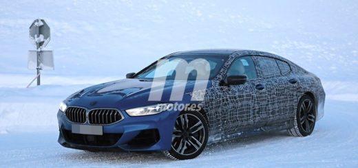 BMW Serie 8 Gran Coupe 2019 Snow spy (3)