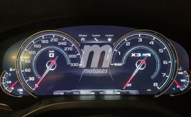 BMW X3M 2020 F97 Immagini scappate (2)