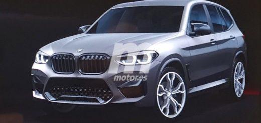 BMW X3M 2020 F97 Immagini scappate