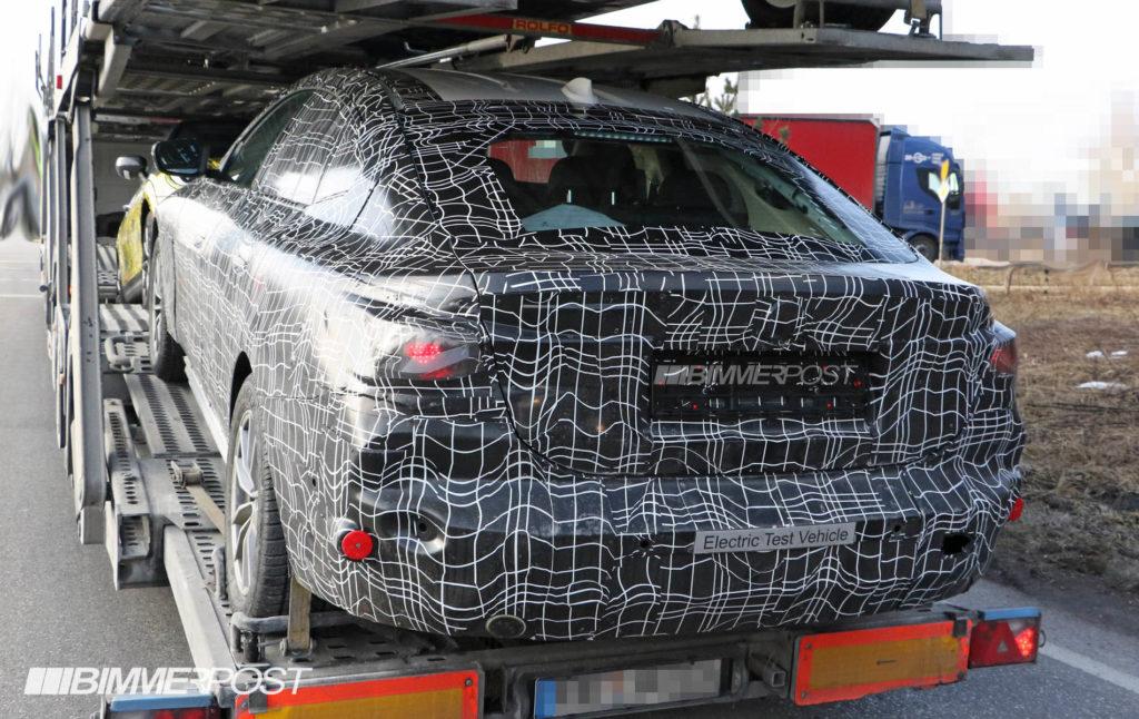 BMW i4 Spy 2020 - BMW Serie 4 Gran Coupe G26 (2)