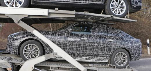 BMW i4 Spy 2020 - BMW Serie 4 Gran Coupe G26 (7)