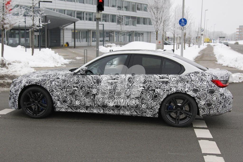 BMW M3 G80 Spy 2020 Nordschleife (2)